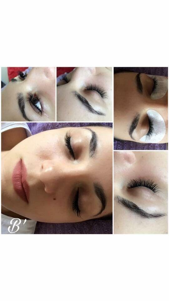 Eyelash extensions 30£