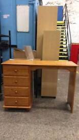 Pine Dressing Table. Delivery Available