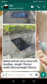 Dog cat CAGE like new very good condition measurements on photo