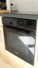 Bosch built-in electric single fan oven with integral grill HBA13B160B.