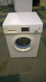 white haier 7kg digital washing machine
