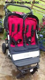 Mountain Buggy Duet £200