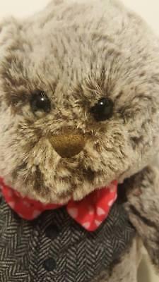 GODIVA 2018 PLUSH TEDDY BEAR W/ BOW TIE & VEST