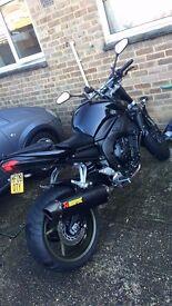 Yamaha FZ1N Black 2008 1000cc