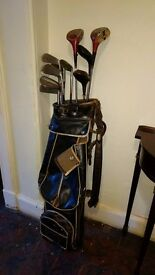 Set of Vintage Scottish Made Golf Clubs.