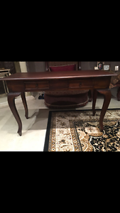 Brown Buffet Table Casula Liverpool Area Preview