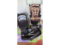 Mamas & Papas Sola Pram Pushchair Travel System ONO