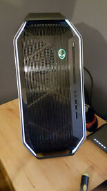 Alienware area 51 full setup most items under 1 month old