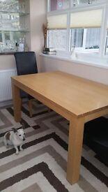 Modern Oak Table