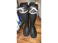 Gill tall yachting boots SIZE 5.5