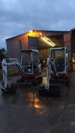 MINI DIGGER/ DUMPER HIRE/ GROUNDWORKS/ GRAB HIRE/ TIPPER HIRE