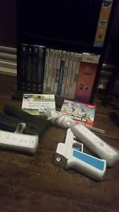 barley used wii +games+4 remotes+ wii fit