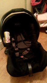 Graco car seat from newborn