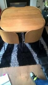 ikea space saver table and chairs