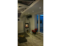 stoves, open fires, fireplaces, fire features, Installations, services, safety checks