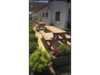 Extra strong/large Pub style picnic benches