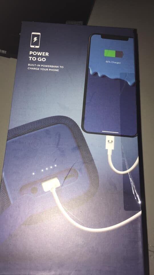 Indigo rockbox Bluetooth portable speaker new | in Waterlooville, Hampshire  | Gumtree