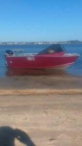 5mt aluminium plate boat