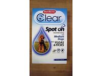 Bob Martin Clear Spot On Solution Kills Fleas & Tick