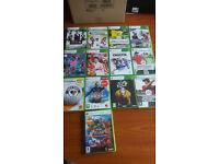 Job Lot 13 x Xbox 360 Sports Titles