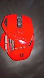 MAD CATZ R.A.T.3 Red Gaming Mouse