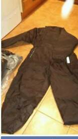 2 x MOTORCYCLE WATERPROOF INSULATED SUITS. *BRAND NEW*