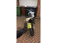 125cc sinnis apache cash only ..65plate..