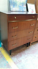 Retro teak drawers (delivery available)