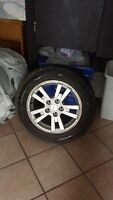 5 tires with Rims Excellent