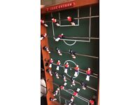 TABLE TOP FOOTBALL FOR SALE. FOLDING, GOOD CONDITION. ACCESSORIES INCL. STURDY! TWO MAN LIFT
