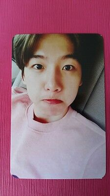 EXO BAEKHYUN Official PHOTOCARD W Ver  KOREA PRESS 2nd Repackage LOVE ME RIGHT