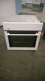 white diplomat built in electric single oven