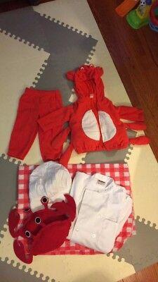 18month Carter's Crab Halloween Costume - Crab Halloween Costume