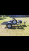 3 bike trailer Elimbah Caboolture Area Preview