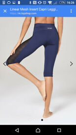 Ivy Park gym leggings, unworn.