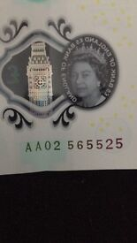 New fiver AA02
