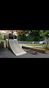 Skateboard Ramp, Ramp Platform, Grind Box with Grind Box trolley Bentleigh East Glen Eira Area Preview