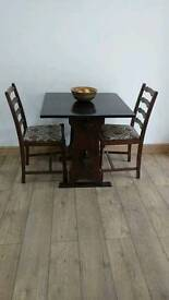 Dining table and