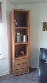Wooden books unit Perfect condition