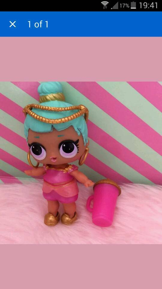 Lol Doll New Series 2 Bottle Opened Doll Name Genie In
