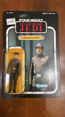 Kenner Star Wars ROTJ IMPERIAL COMMANDER Action Figure MOC VINTAGE UNPUNCHED