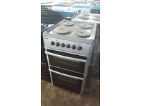 b565 silver beko 50cm solid ring electric cooker comes with warranty can be delivered or collected
