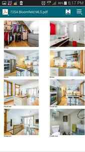 *** Beautiful new apartment in outremont for july***