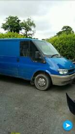 Blue and white t260 transit parts