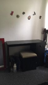 Dressing table like new , and bedside cabinets x2