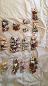 SYLVANIAN FAMILIES- VARIETY OF FAMILIES SOME RARE