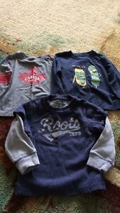 Roots 3t shirts