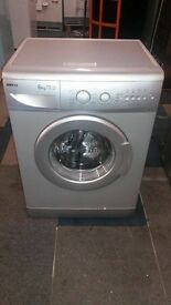 silver beko 6kg 1300 spin washing machine