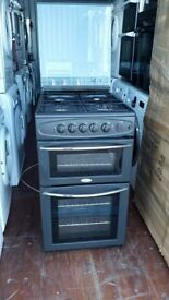 Black 'Belling' Gas Cooker - Good Condition / Free local delivery