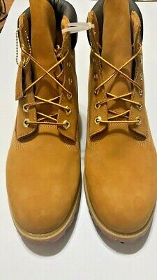"""Timberland Mens 6"""" Double Sole Premium Leather  Work Boots choose Color / Size"""